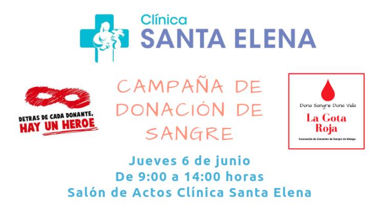 CAMPAÑA DONACIÓN SANGRE CLÍNICA SANTA ELENA